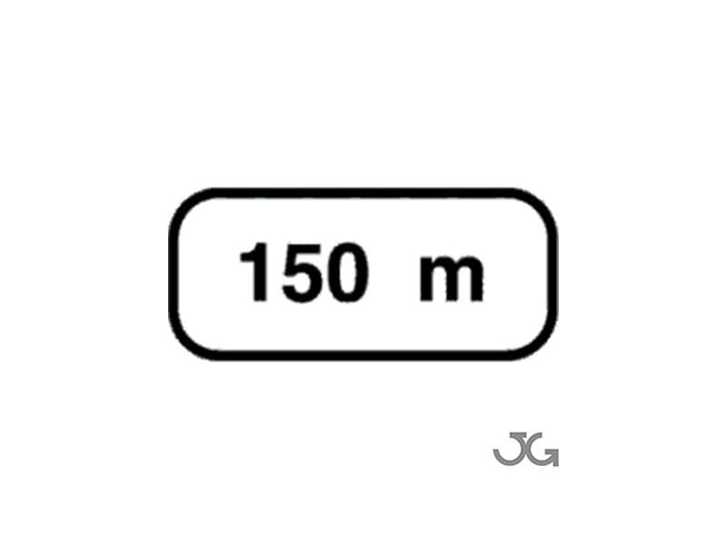 Paneles complementarios distancia peligrosa -s 800